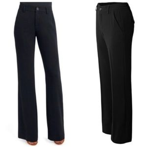 CAbi Black 'City Pant' Flare Formal Trousers